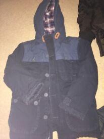 3 Boys jackets age 8 £12