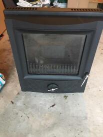 Esse 300 inset multifuel stove fire