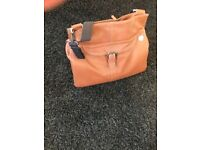 PacaPod leather changing bag