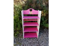 Girls Pink Shelving