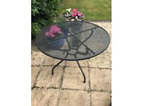 Royal Garden round table 105 cm diameter