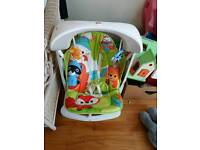 fisher price seat and swing