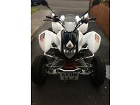 ROAD LEGAL QUAD APACHE 450CC SPORT ABSOLUTE BEAST BRAND NEW MOT AND SERVICE £2500