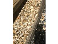 FREE FOR COLLECTION YORKSHIRE GOLD GRAVEL