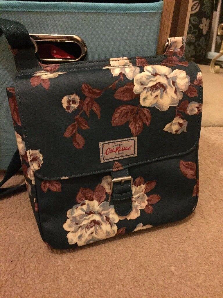 Cath Kidston rose tab saddle bag