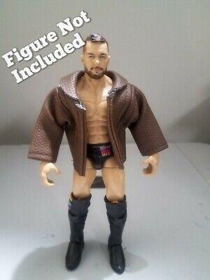 WWE Custom Mattel AJ Styles Finn Balor Kenny Omega Cody Rhodes Leather Jacket