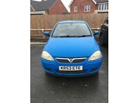 Vauxhall Corsa - 2003 - Spares / Repairs