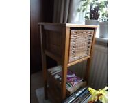 wooden telephone table or side table