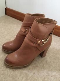 Brown next boots