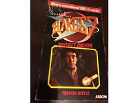 Blakes 7 FILMS (VHS) & Book 'Project Avalon'