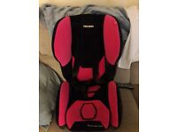 Recaro Young Expert Plus Pink Car Seat