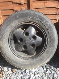 Land Rover wheel