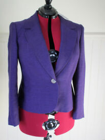 New with tags, a beautiful fitted jacket by Windsmoor. Very generous size 16/18.