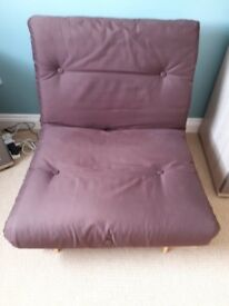 Single futon bed excellent condition