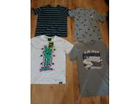 Bundle of boys T Shirts 12-13 some new and unworn