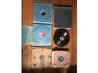 Collection of 86 Gramophone records 78 rpm
