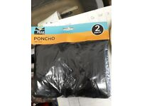 Poncho - 2 Pack new