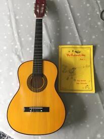 Junior Children's Beginners Guitar and Music Book