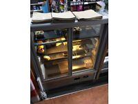 Norpe Saga-90-M-STS 0.9m Stainless Steel Bakery Display Fridge