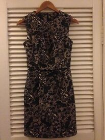 Warehouse Dress size 8-only worn twice