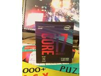 Intel i7 8700k CPU (Brand New)