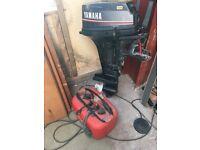 Yamaha Outboard boat engine 15hp
