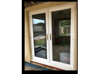 Beautiful Double Glazing Garden/Patio Double Door - PICK UP ONLY.