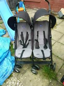 Gracco echo double buggy £70