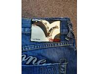 Urban Stone denim jeans. Real top quality. W36/L32. Worn once. Cost £99.99. Will accept £40