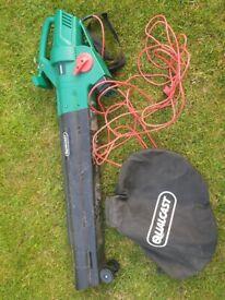 Qualcast 2800W Garden Leaf Blower and Vacuum