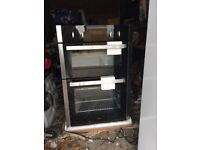 CDA double oven for fitted kitchen