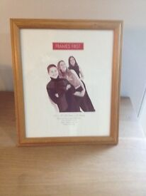 Large wooden photo frame 12x10