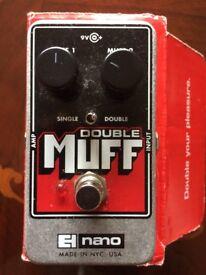 EH Nano Double Muff Fuzz/Overdrive Pedal