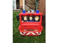 Ride on fireman Sam outdoor toy fire engine