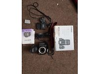 Canon 450D SLR Kit With Accessories and Box