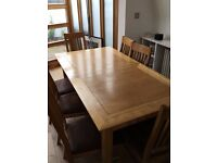 John Lewis Extendable Dining Table & Chairs