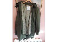 M65 parka coat brand new