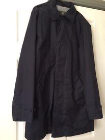 Men's Navy Raincoat