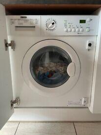 Integrated ZANUSSI washing machine