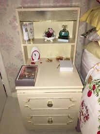 Bedside table with draws