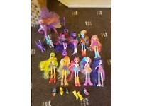 My Little Pony and Equestria Girls Doll bundle