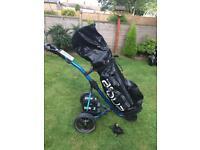 Power bug X electric trolley & bigmax aqua bag