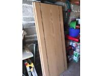 oak veneer fire doors