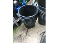 Large commercial planting tubs