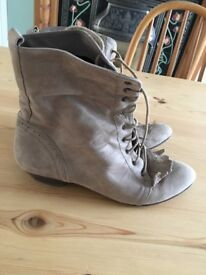 Ladies Suede boots size 7