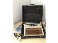 Electric Typewriter- Smith Corona with case and full instructions