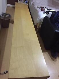 Bedroom breakfast table