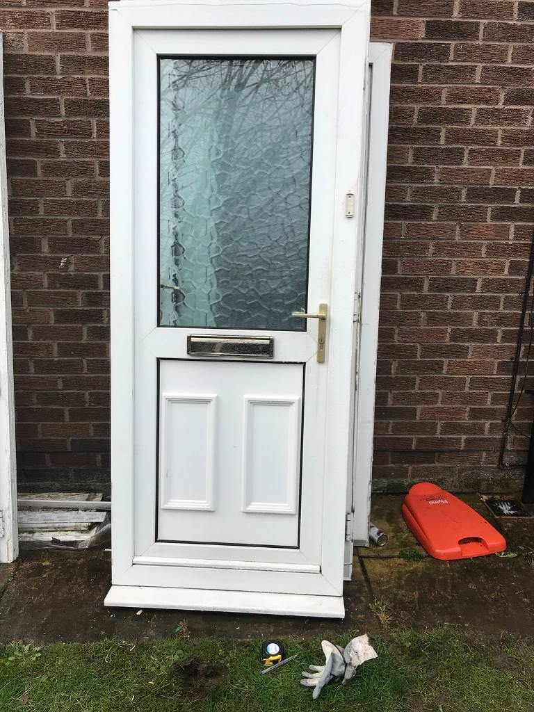 Used upvc door with frame | in Cheadle Hulme, Manchester | Gumtree