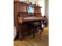 Old ex-school piano for free