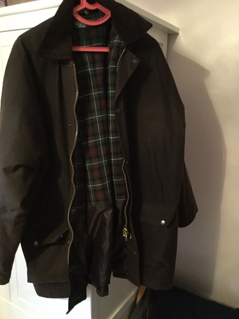 Mens Wax Jacket Brown XXLin AngusGumtree - Selling Mans Wax Jacket in Brown by Countrywear, in very good condition. As new. Please text me if you are interested. thanks June